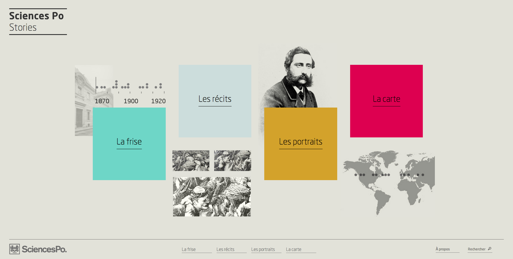 Sciences Po Stories - Homepage